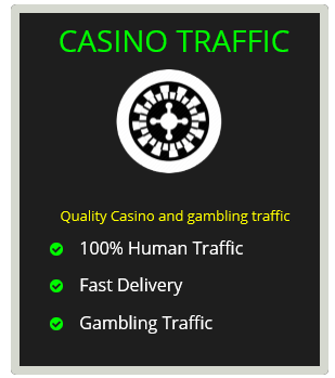 Buy casino traffic