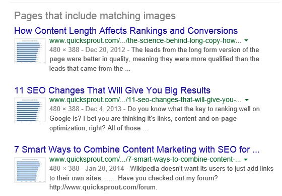 reverse search reults